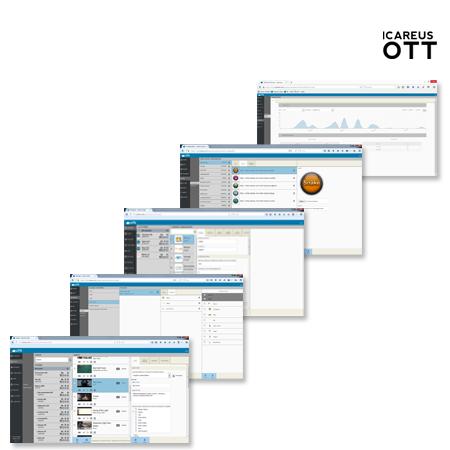 OTT - Icareus TV and Video Cloud